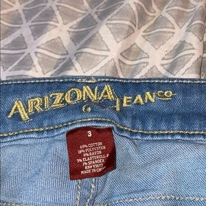 Arizona jeans with home made rips